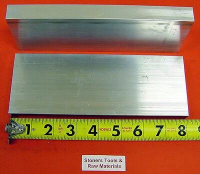 2 Pieces 1 X 3 Aluminum 6061 Flat Bar 8 Long Solid 1.00 T6511 Mill Stock