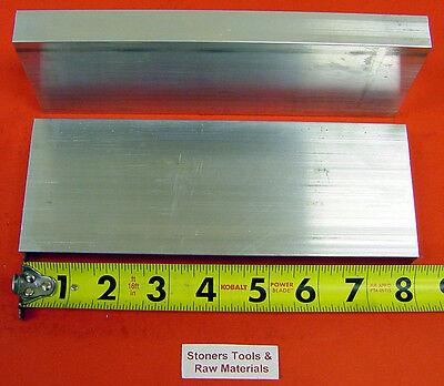 2 Pieces 34 X 3 Aluminum 6061 Flat Bar 8 Long .750 Plate New Mill Stock