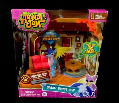 Animal Jam Small House Den With Limited Edition Winged Deer Playset ()