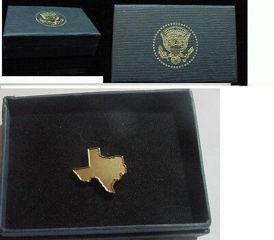 Texas Governor George W Bush Lapel Pin
