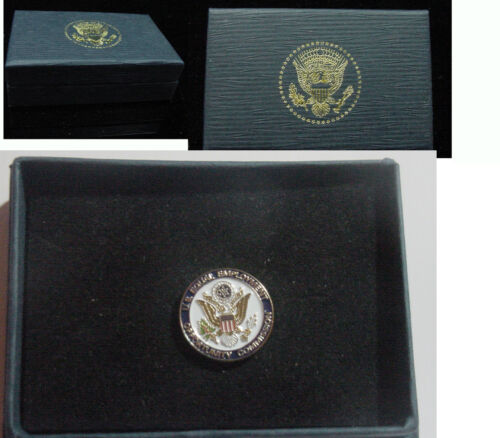 US Equal Employment Opportunity Commission Lapel Pin no signature New EEOC