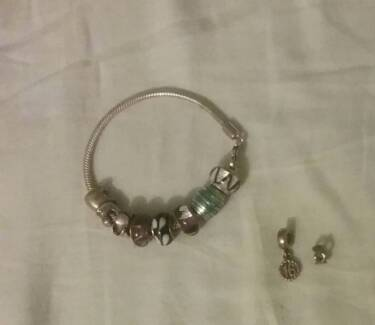 Pandora bracelet + charms (some is michael hill)