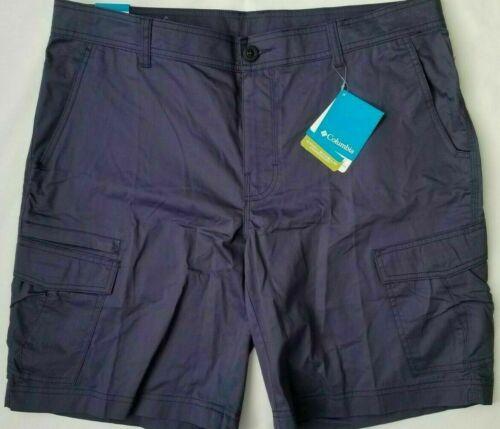 Columbia Men`s Shorts Omni Shield Outdoor Cargo Flat Front--sz&clr(variety)--nwt