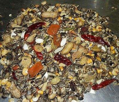 30LBS ABBA 3500 WHOLESOME PARROT FOOD NO ARTIFICIAL COLORS OR FLAVORS