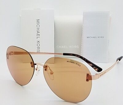 New Michael Kors Sydney sunglasses MK1037 1108R1 Gold Gold Flash 1037 (Sunglass Sydney)