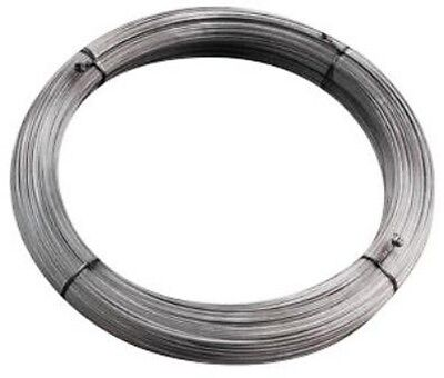 Electric Fence 2000ft 12.5 Gauge High Tensile Electric Fence Galvanized Wire