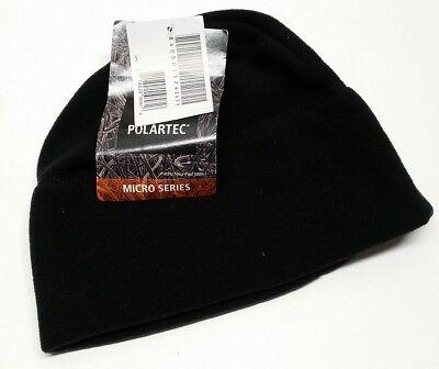 NEW Army Issue Polartec Fleece Microfleece Cap Beanie Black Cold Weather NSN
