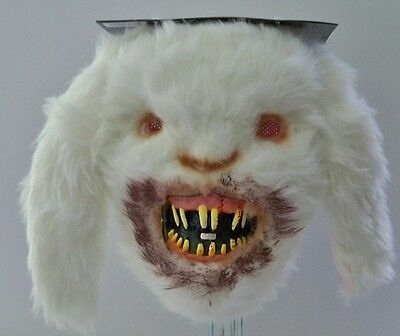 ADULT RABID BUNNY RABBIT GRUESOME HORROR BLOODY TEETH COSTUME MASK MR039150](Bunny Teeth Halloween)