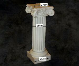 Colonne ionnique en platre arm staff h 100cm d co art for Colonne en platre pour decoration interieure