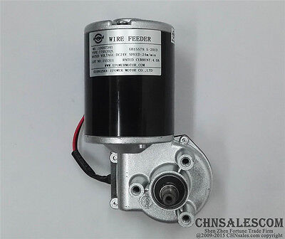 Mig Welder Wire Drive Feed High Speed Motor 24v Dc 4a 80w 24mmin 260rpm
