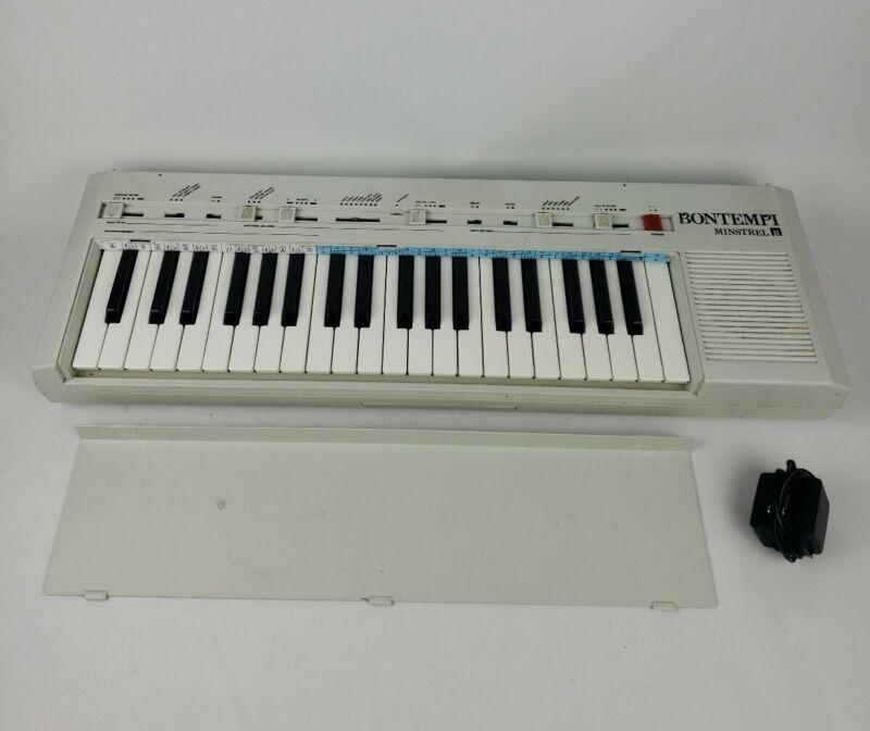 Excellent Fully Working Bontempi Minstrel Beta Electronic KeyboardRare!
