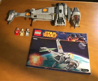 Lego Star Wars 75050 B-Wing Starfighter - Complete- Missing Stickers- No Box