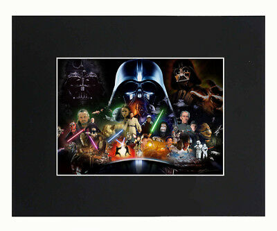 Star Wars Movie Art Print Picture Photograph 8x10 Matted Pos