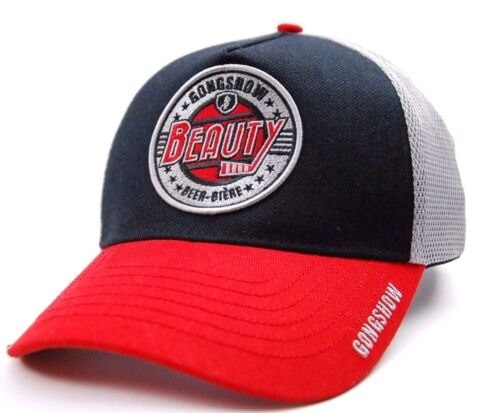 Gongshow Hockey Beauty Full Contact Lager Meshback Adjustable Hockey Cap Hat