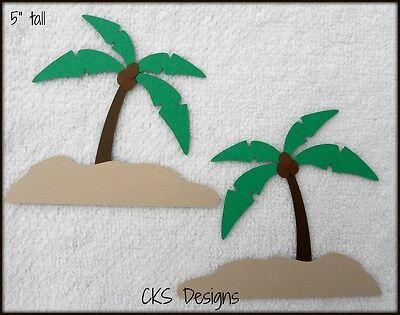 Die Cut Palm Trees for Beach, Luau, or Party Scrapbook Paper Piecing CKS Designs](Party Palm Trees)
