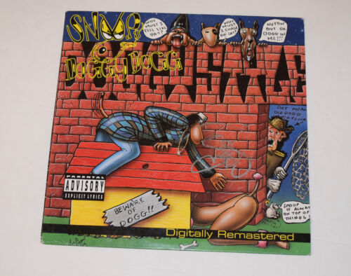 Snoop Dogg Signed Autographed DOGGYSTYLE Record Album LP Smudged Signature COA