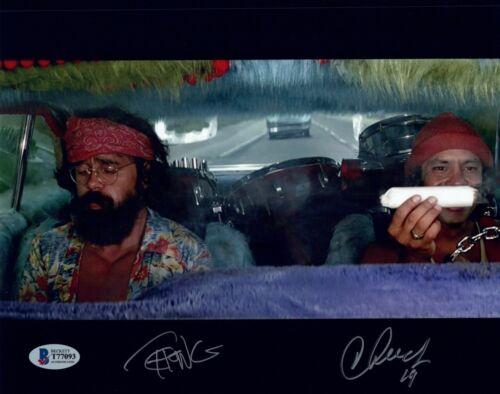 Cheech Marin Tommy Chong Signed Autograph 8x10 Photo UP IN SMOKE Beckett COA