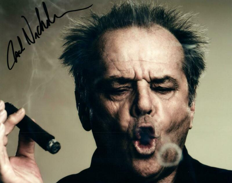 Jack Nicholson signed 8x10 Photo with COA autographed Picture very nice