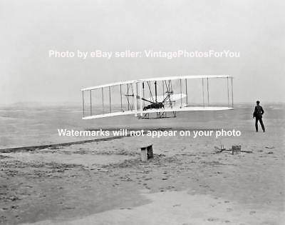 1903 Wright Brothers Orville Wilbur Wright Flyer 1st Flight Kittyhawk NC Photo