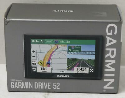 "NEW - Garmin Drive 52  5"" GPS Navigation System 010-02036-06"