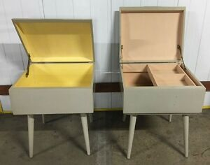 Vintage 1950s Sewing Boxes - Pair Artarmon Willoughby Area Preview