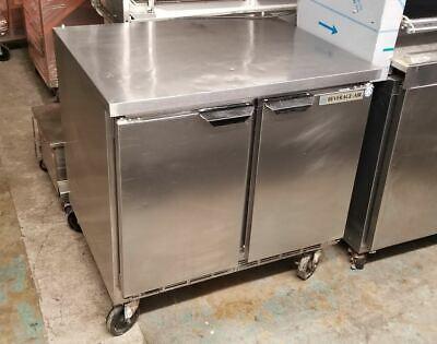 Beverage Air 36 2 Door Worktop Undercounter Freezer Wtf36ay