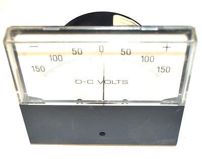 Dc Volts 255321pzpz Analog Panel Meter