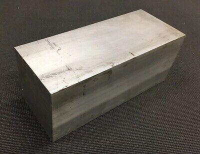 3 Thickness 6061 Aluminum Square Bar - 3 X 3 X 7.25 Length