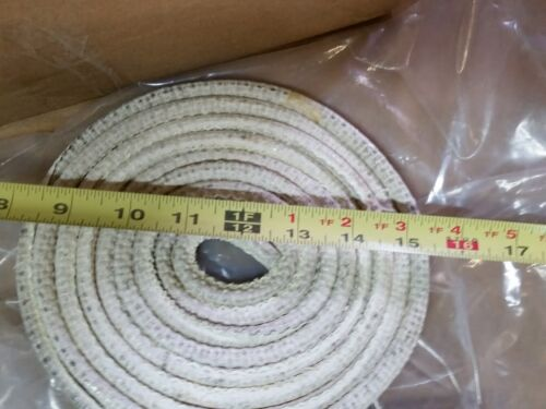 "Parker Hannifin Fiberglass 3/8"" Compression Packing -NIB"
