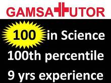GAMSAT Tutor (100 in science, 100th percentile overall) Sydney City Inner Sydney Preview