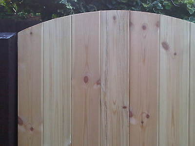 Heavy Duty Wood Arched T&G 6'x 2ft 6