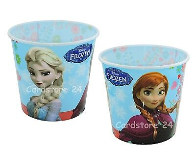 Disney Frozen Eiskönigin Papierkorb Eimer Mülleimer Abfalleimer Elsa Anna 19cm