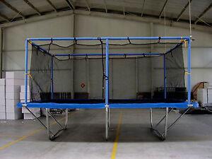 Commercial Grade 10X17 ft Rectangle Trampoline w Safety Net Enclosure GC-7195TXL