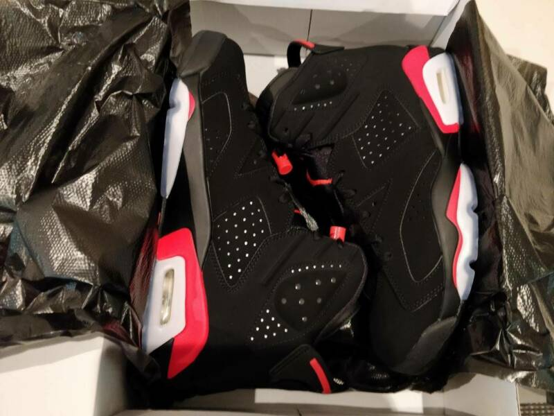 size 40 989f0 9a026 2019 Nike Air Jordan 6 Infrared Retro (US 9) Mens shoes-Deadstock   Men s  Shoes   Gumtree Australia Hornsby Area - Hornsby   1211085859