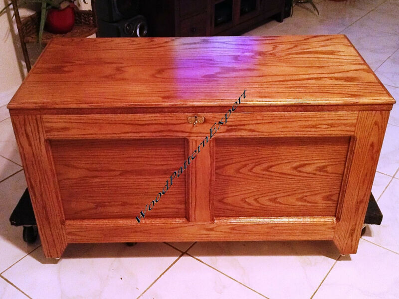 CEDAR CHEST Paper Patterns BUILD TOY STORAGE HOPE BOX LIKE EXPERT Easy DIY Plans