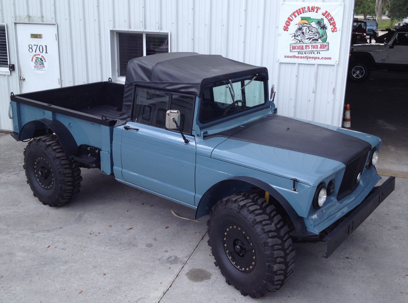 1967 Jeep Kaiser M715  1967 Kaiser-Jeep M715 5/4 1.25-ton Utility Truck Completely Restored S/N 17511