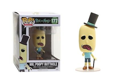 Funko POP Animation Rick and Morty Mr. Poopy Butthole Action