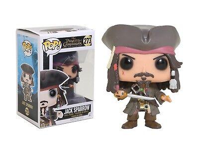 Funko Pop Disney: Pirates of the Caribbean - Jack Sparrow Vinyl Figure - Pirates Of The Caribbean Jack Sparrow