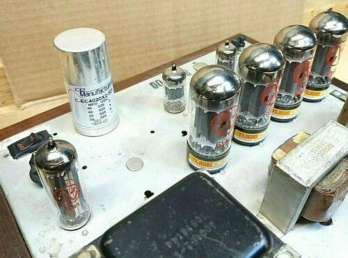 VTG Restored Magnavox Tube Stereo Power Amplifier Amp 88-02-00 8802 Maggie