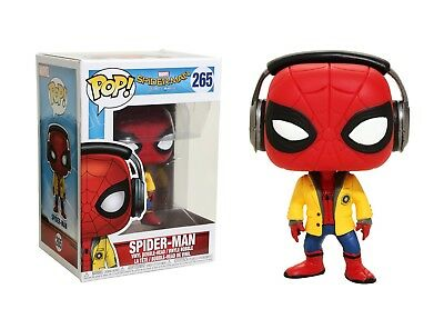 Funko Pop Marvel Spider-Man Homecoming: Spider-Man Vinyl Bobble-Head #21660