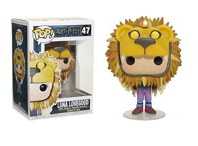 Funko Pop Movies: Harry Potter-Luna Lovegood w/ Lion Head Co