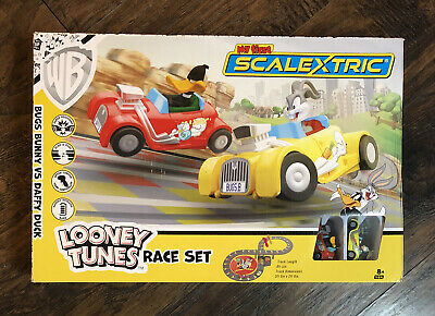Rare HTF NEW 2019 Hornsby America Inc My First Scalextric LOONEY TUNES RACE SET