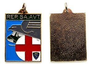 Medaglia Con Vernice Taurinense REP. SA. AVT. Metallo Argentato cm 3,1 x 4,2 - Italia - L'oggetto può essere restituito - Italia