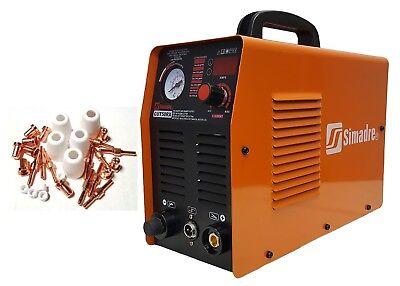 Plasma Cutter Igbt Power 50rx 110220v 50a 12 Clean Cut W 30 Cons Simadre