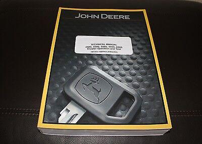 John Deere 450g 455g 550g 555g 650g Crawler Service Operation Test Manual