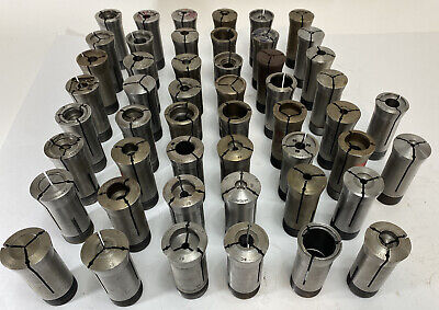 5c 50 Piece Lot Of Hardinge 5-c Collets Big Variety E1e2 Fast Shipping