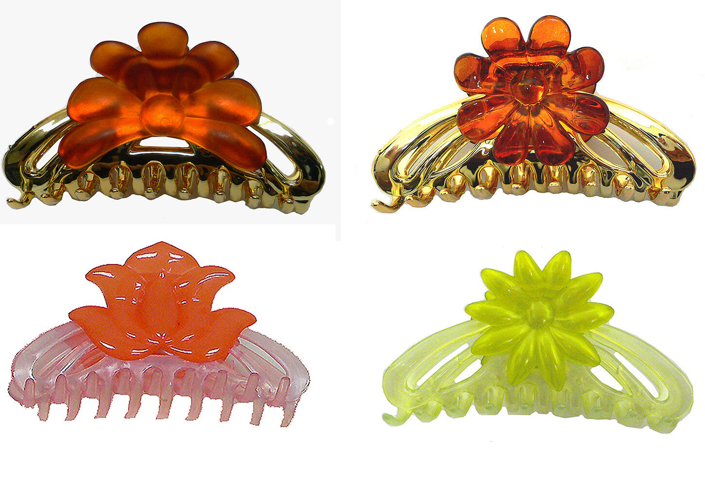 Bella Large Jaw Clip Claw Clip Hair Clip 4 Colors DB86250-1