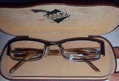 MODZ KAUAI BROWN & WHITE WOMEN'S Rx PROGRESSIVE GLASSES-50 18 135-W/CASE