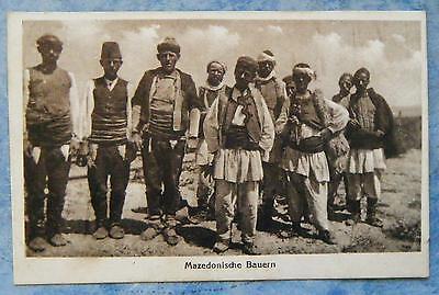 alte AK Mazedonische Bauern Mazedonien Europa Nr. 174479 um 1920