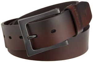 Carhartt-Mens-Anvil-Leather-Belt-Gun-metal-buckle-brand-new-with-fast-ship
